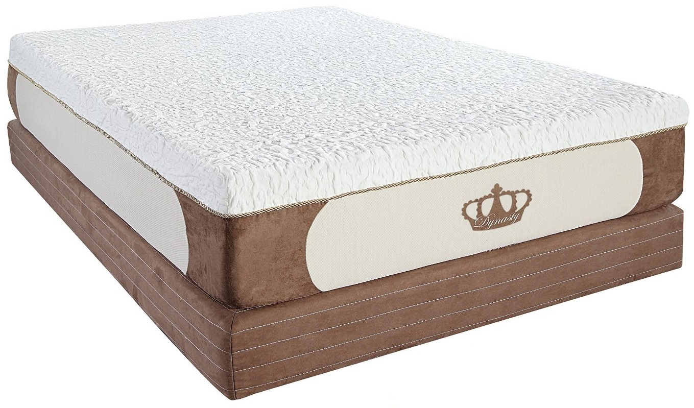 "DynastyMattress Cool Breeze 12"" Gel Memory Foam"