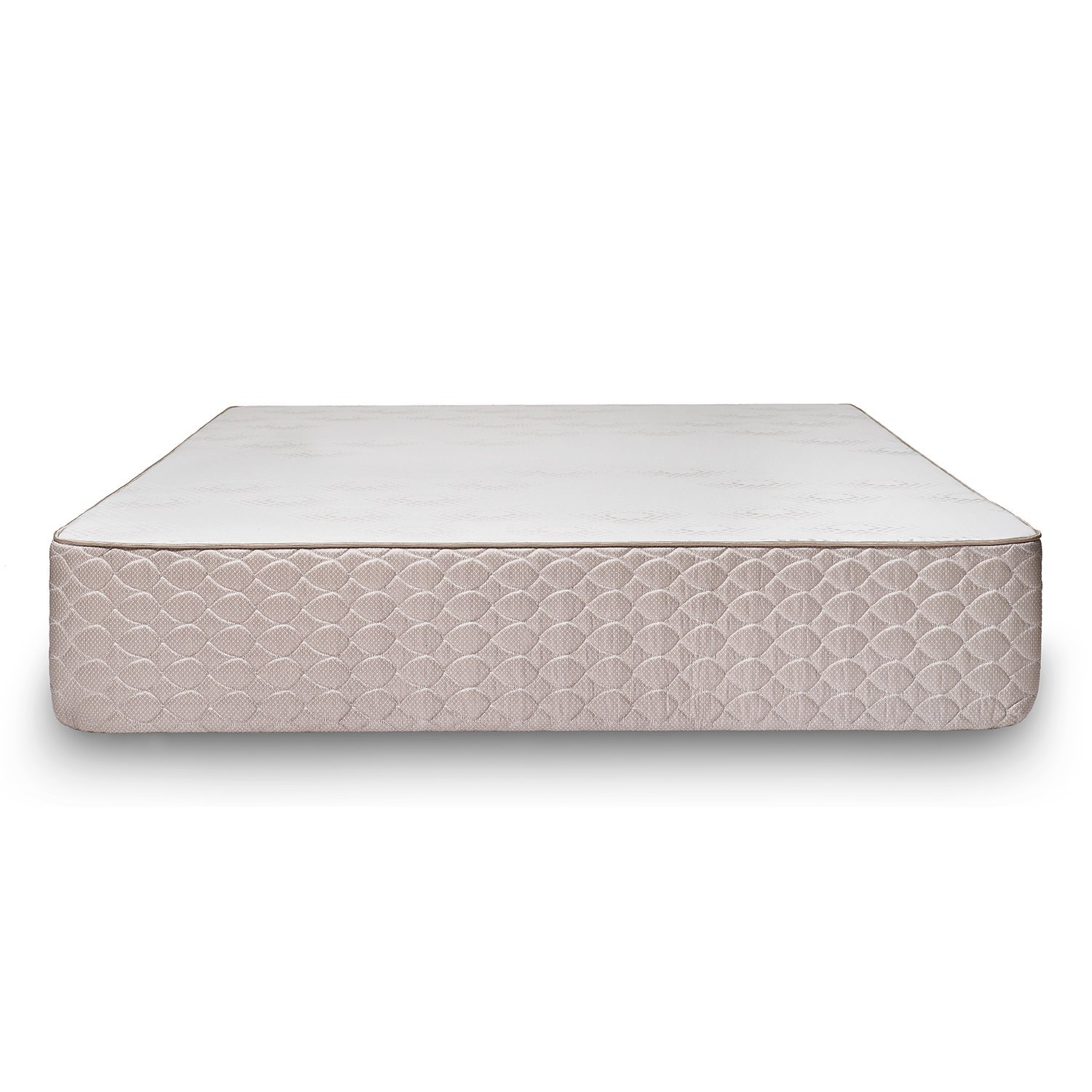 brentwood home sbed latex and gel memory foam mattress