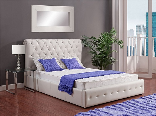 Signature Sleep Essential 6-Inch Coil Mattress with CertiPUR-US Certified Foam, Twin, White. Available in Multiple Sizes