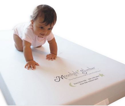 Moonlight Slumber Little Dreamer Dual Firmness Crib Mattress